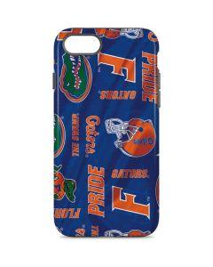 Florida Gators Pattern iPhone 8 Pro Case