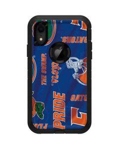 Florida Gators Pattern Otterbox Defender iPhone Skin