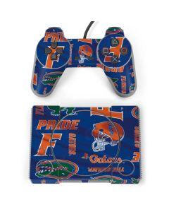 Florida Gators Pattern PlayStation Classic Bundle Skin