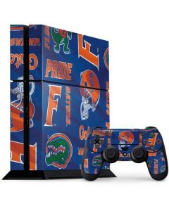 Florida Gators Pattern PS4 Console and Controller Bundle Skin