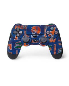 Florida Gators Pattern PS4 Controller Skin