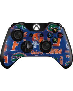 Florida Gators Pattern Xbox One Controller Skin