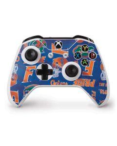 Florida Gators Pattern Xbox One S Controller Skin
