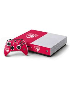 Florida Panthers Color Pop Xbox One S Console and Controller Bundle Skin