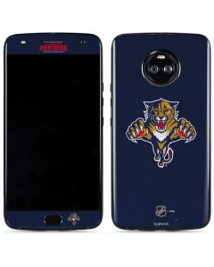 Florida Panthers Distressed Moto X4 Skin