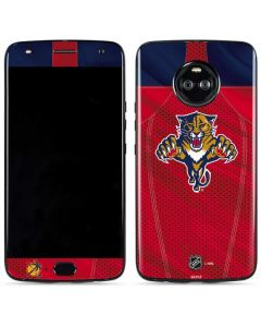 Florida Panthers Jersey Moto X4 Skin
