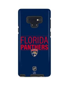 Florida Panthers Lineup Galaxy Note 9 Pro Case