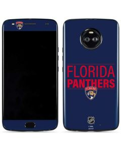 Florida Panthers Lineup Moto X4 Skin
