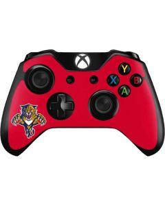 Florida Panthers Logo Xbox One Controller Skin