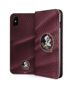 Florida State Seminoles iPhone XS Max Folio Case