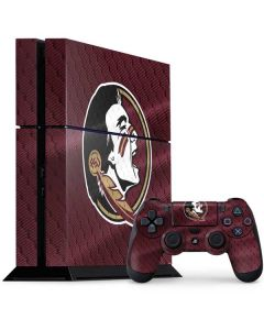 Florida State Seminoles PS4 Console and Controller Bundle Skin