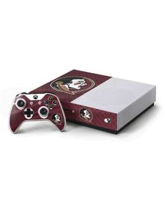 Florida State Seminoles Xbox One S Console and Controller Bundle Skin