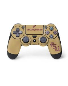 Florida State Unconquered Gold PS4 Controller Skin