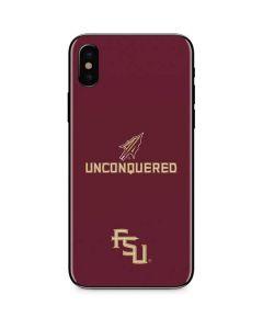 Florida State Unconquered iPhone X Skin