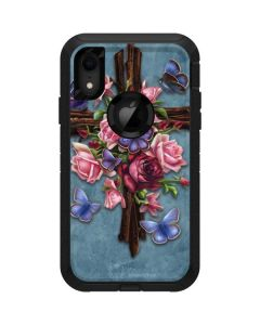 Flower Cross Otterbox Defender iPhone Skin
