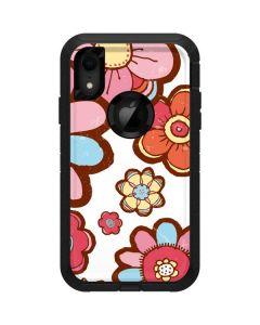 Flower Hill Otterbox Defender iPhone Skin