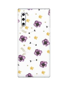 Flowers and Arrows Galaxy Note 10 Skin