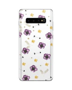 Flowers and Arrows Galaxy S10 Plus Skin