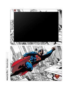 Flying Superman Galaxy Book 12in Skin