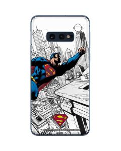 Flying Superman Galaxy S10e Skin