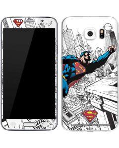 Flying Superman Galaxy S6 Skin