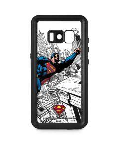 Flying Superman Galaxy S8 Plus Waterproof Case