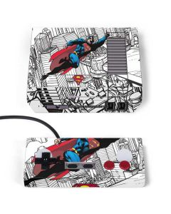 Flying Superman NES Classic Edition Skin