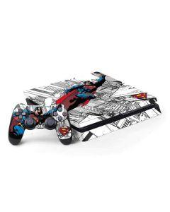 Flying Superman PS4 Slim Bundle Skin
