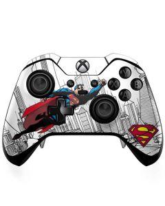 Flying Superman Xbox One Elite Controller Skin
