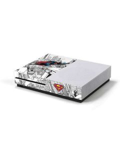 Flying Superman Xbox One S Console Skin