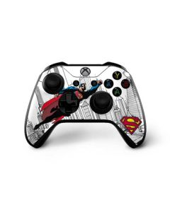 Flying Superman Xbox One X Controller Skin