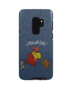 Foghorn Leghorn Thats All Folks Galaxy S9 Plus Pro Case