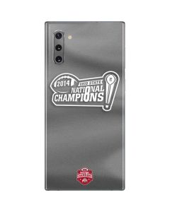 Football Champions Ohio State 2014 Galaxy Note 10 Skin