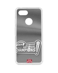 Football Champions Ohio State 2014 Google Pixel 3 Clear Case