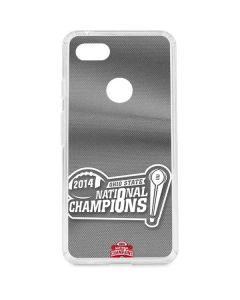 Football Champions Ohio State 2014 Google Pixel 3 XL Clear Case