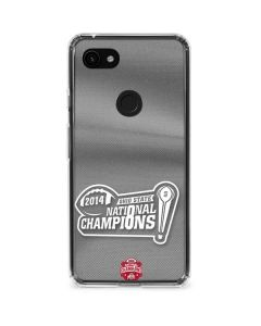 Football Champions Ohio State 2014 Google Pixel 3a Clear Case