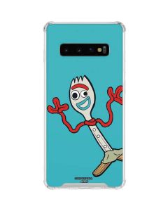 Forky Galaxy S10 Clear Case