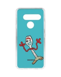Forky LG V40 ThinQ Clear Case