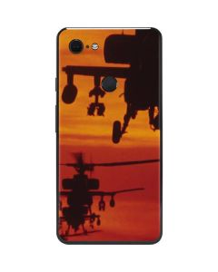 Four AH-64 Apache Helicopters Google Pixel 3 XL Skin