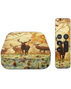 Four Red Deer Apple TV Skin