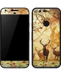 Four Red Deer Google Pixel Skin