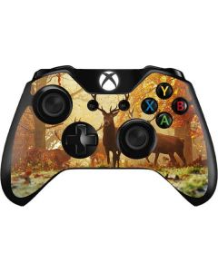Four Red Deer Xbox One Controller Skin