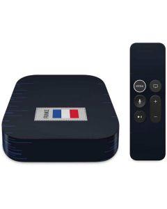 France Soccer Flag Apple TV Skin