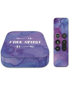 Free Spirit Apple TV Skin