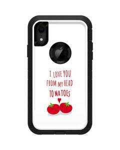 From My Head Tomatoes Otterbox Defender iPhone Skin