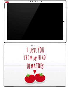 From My Head Tomatoes Surface Pro (2017) Skin
