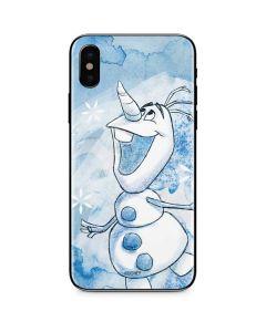 Frozen Olaf iPhone XS Skin