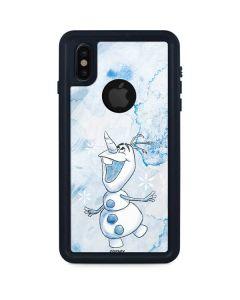 Frozen Olaf iPhone XS Waterproof Case