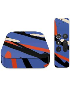 Abstract Lines Apple TV Skin