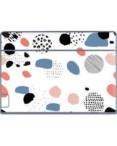 Patterned Dots Galaxy Book Keyboard Folio 12in Skin